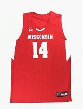 brand new 8502b d5611 Basketball Wisconsin Badgers NCAA Jerseys for sale | eBay