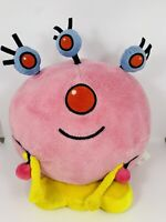 Disney Store Happy Monster Band Pink Ink Plush RARE HTF 10""