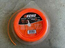 "Echo Trimmer Head String Line .080"" Cross Fire 1 Lb Donut 402 Ft"