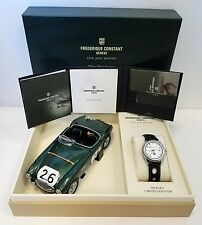 FREDERIQUE CONSTANT VINTAGE RALLY HEALEY GMT WATCH FC-350HS5B6 NEW!!!! $2,295