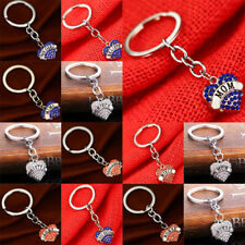 Keyring Diamonds Heart Mothers Fathers Sisters Grandmas Gifts Keychain Key Chain