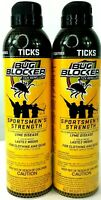 2x Bug Blocker Tick Repellent Sportsman's Strength Clothing & Gear 6 Oz 170 G