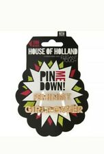 Elegant Touch Hair Clips Feminist House of Holland by Girl Power Fashion NEW