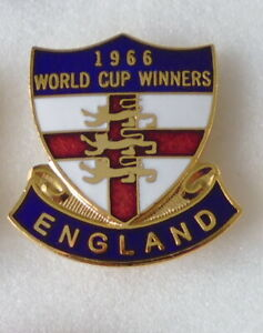 ENGLAND WORLD CUP WINNERS Enamel Pin BADGE 1966