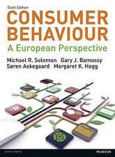 Consumer Behaviour: A European Perspective by Michael R. Solomon, Gary J. Bamoss