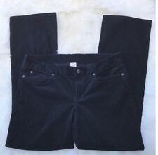 J. Crew Womens Black Curdoroy Jeans Size 33R Favorite Fit