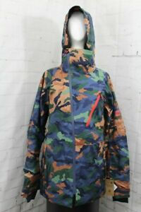 686 GLCR Hydra Thermagraph Snow Jacket Mens Large, Vintage Navy Utility Camo New