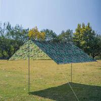 Außen BBQ Zelt Planen 300x300cm Wasserfest UV-Schutz Garten Zeltplane+Seil+Nagel