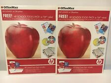 HP School Tools Pack OfficeMax Exclusive Homework Helper Software paper samples