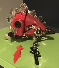G2 TRANSFORMERS DINOBOT RED SNARL COMPLETE LOT - BROKEN PLEASE READ