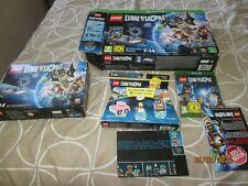 LEGO Dimensions Xbox One Starter Pack (71172) 100% COMPLETE!! - READ DESCRIPTION