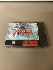 Zelda : Parallel Worlds  , CIB SNES Complete Box Set , Brand New