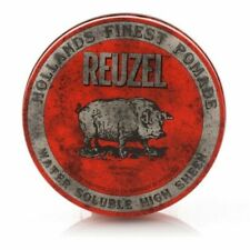 Reuzel Red Water Soluble High Sheen Pomade 4 Oz