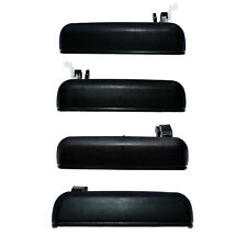 New Exterior 4pcs Front Rear Left Right  Door Handles Fit Toyota Tercel 1995-98