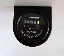 36M Volt Golf Cart Battery Meter - for All Lead Acid Batteries, Exide, Trojan MB