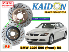 "BMW 320i E90 disc rotor KAIDON (front) type ""RS"" spec"