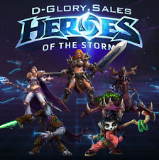 Heroes of the Storm Bundle - 5 Heroes (Zeratul / Zagara / Jaina / Sonya / Li Li)