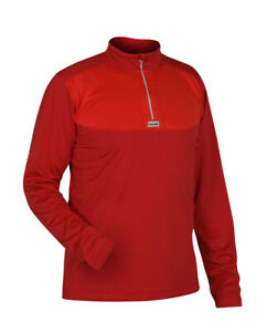 Páramo Seconds Men's Cambia Long Sleeve Wicking, hiking Zip Neck Baselayer
