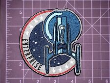 Star Trek TOS Enterprise Mission Patch Embroidered Patch, TV,cosplay,costume