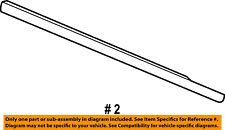 Dodge CHRYSLER OEM-Door Window Sweep-Belt Molding Weatherstrip Right 4806138AB