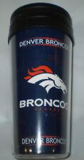 NFL Denver Broncos 14oz Café Vaso Boelter De Viaje Nuevo 3a639823f0c