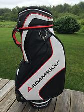 "New Speedline Adams Black & White Tour Staff Golf Bag ""Distance Fitting System"""