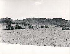 HOGGAR c. 1950 - Tentes Campement Bédouins Algérie - NV 349