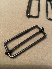 Metal Adjustable Webbing Slider Buckle Sliding Bar Buckle Strap Adjuster 55mm