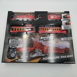 Adventure Force Remote Controlled Train Adventure Railway 13 Feet  Lights Smoke