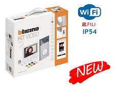 """BTICINO 364614 KIT VIDEOCITOFONICO MONOFAMILIARE CLASSE 100X16E WI-FI LCD DA 5"""""""