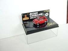 1:64 Microchamps Michael Shumacher Collection Fiat 500 M box