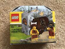 Lego Iconic Cave Set Caveman & Cavewoman Minifigures