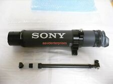 Sony BKW-LVF1 extended viewfinder tube for Sony HDVF, SRW/HDW/PDW cameras