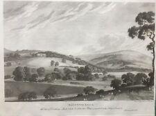 1791 Antique Print; Bailbrook House (Hotel), Bath, Somerset after Thomas Bonnor