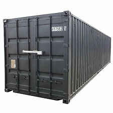 40 Fuss Container Seecontainer Lagercontainer Schiffscontainer MSOEL lackiert