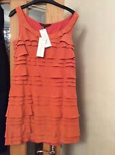 orange dress size 6 french connection bnwt  rrp £105