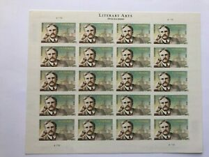 """US Postage Stamp, #4705 Literary Arts """"O,Henry"""", Full sheet of 20, FOREVER, MNH"""