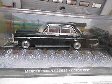 MERCEDES BENZ 250 S Klasse James Bond 007 Filmauto Octopussy IXO Altaya SP 1:43