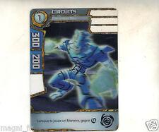 Carte Redakai n° 2-MON-2383 - CIRCUITS - Elementaire bleu (A2544)