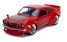 1/24 Jada JDM Tuners 1974 Mazda RX-3 Diecast Model Car Gloss Red 30718