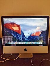 "Apple iMac 20"" 2.66GHz C2D 4GB RAM 320GB HDD 10.11.3 El Cap A1224 Early 2009"