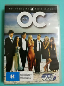 The OC DVD Complete Season 3 Disc Set R4 Very Good Condition 7 disc set