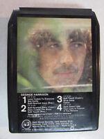 GEORGE HARRISON S/T SELF TITLED 1979 ALBUM 8 TRACK CASSETTE M8 3255 BEATLES OOP