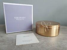 Vera Wang Wedgewood Love Knots Gold Covered Jewellery Box | NEW UNUSED