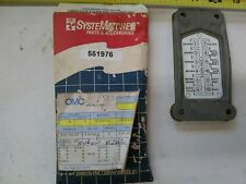 OMC 335060 Applique Decal Plate Evinrude Johnson 120-225 HP 1989-1991