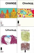 CHANGE 1 2 3 4 (of 4) 1st print set iMAGE COMIC ALEX KOT MORGAN JESKE LEONG 2014