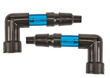 PAIR of Harddrive Lighted Spark Plug Caps BLUE NEON FITS MOST Harley Davidson