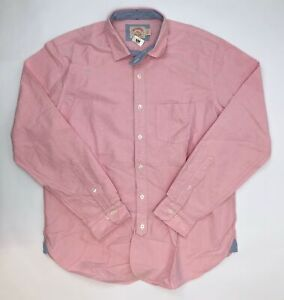 Brooks Brothers Long Sleeve Button Up Shirt Men Size X-Large Pink NWOT