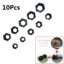 Durable 10Pcs Tapered Damaged Nut Metric Broken Bolt Remover Stud Extractor Set