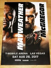 Floyd mayweather vs. Conor McGregor Fight póster 2017 las vegas original en Mint
